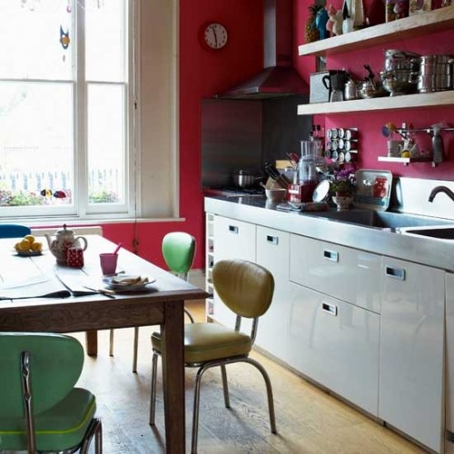 Retro Kitchen Illustration: 17 Retro Kitchen Designs To Inspire You