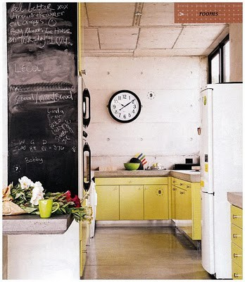 Cute Retro Kitchen Design Ideas