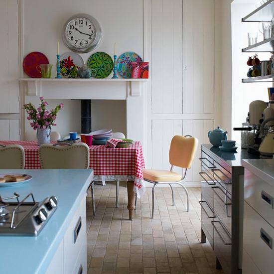 picture of retro kitchen design ideas