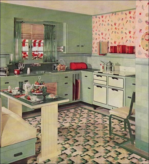 Retro Kitchen Design Ideas