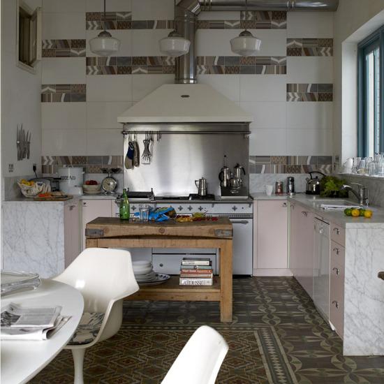 Picture of retro kitchen design ideas for 1950s kitchen decorating ideas