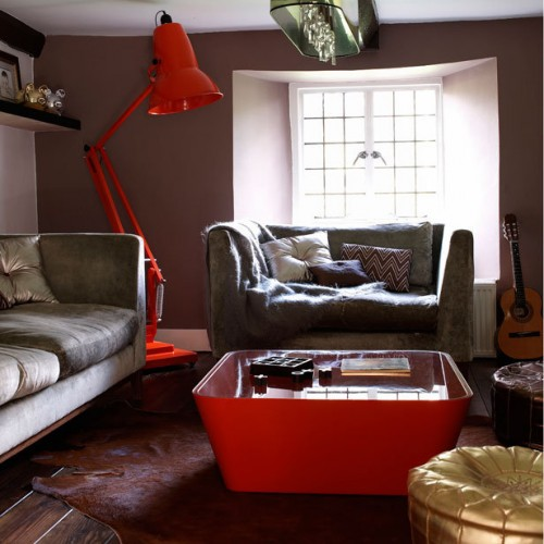 15 retro living room design inspirations shelterness for Retro style living room ideas