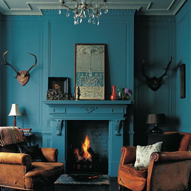 Picture Of Retro Living Room