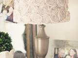 rosette lampshade