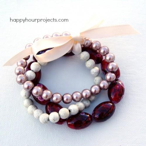 super easy stretch bracelet
