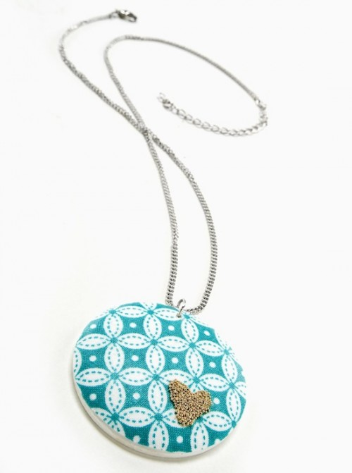 beaded heart pendant (via modpodgerocksblog)