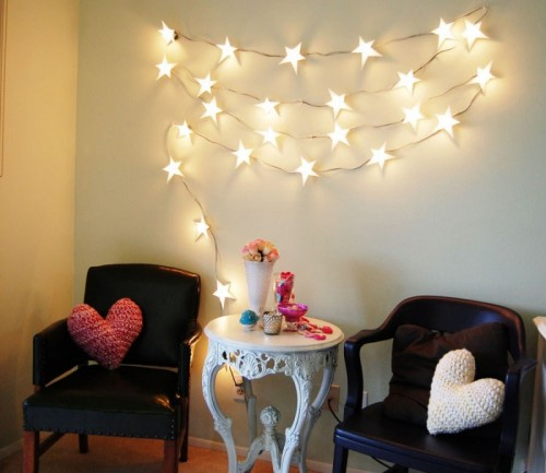 Romantic Diy Star Garland For Indoors And Outdoors