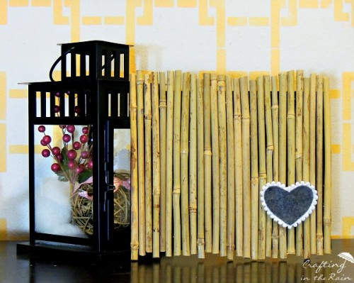bamboo heart art (via craftingintherain)