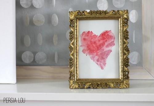 watercolor heart piece (via persialou)