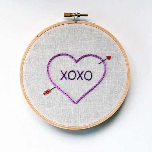 embroidered heart (via crafts)
