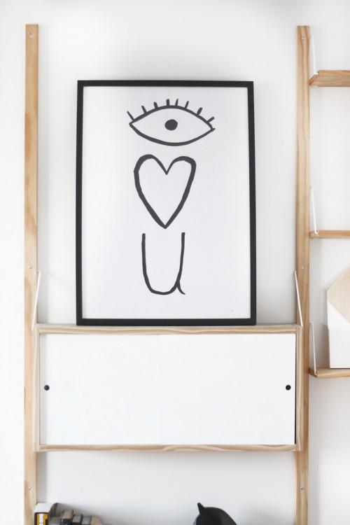 eye love you poster (via hellolidy)