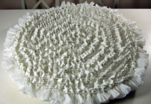 Romantic Snowball Lamp Of Coffee Filters