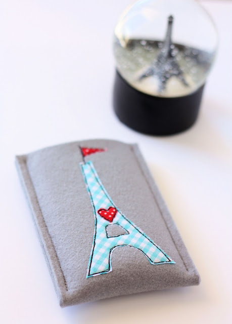Eiffel tower phone cover (via aspoonfulofsugardesigns)