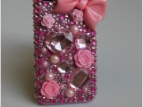 glam rhinestone phone cover
