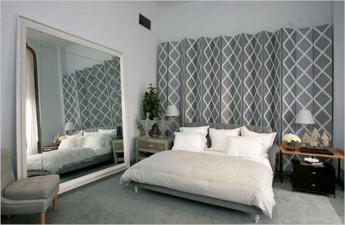 23 ideas to use room dividers as headboards - Room Dividers Ideas