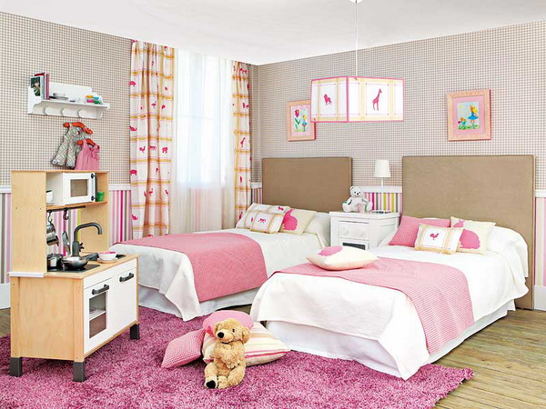 Picture of room for two kids for Bedroom ideas for girls in their 20s