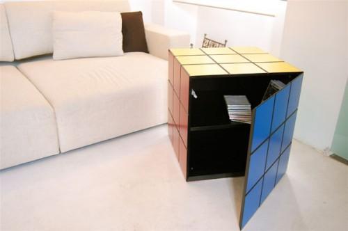 Rubik Cube Storage