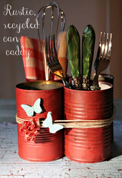 can utensil holders (via debbie-debbiedoos)
