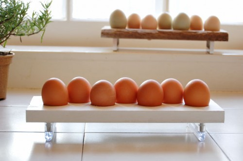 Rustic DIY Egg Holder As A Last Minute Gift