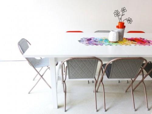 Rustic Diy Hexagon Table Runner