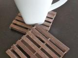 Rustic Diy Mini Pallet Coasters