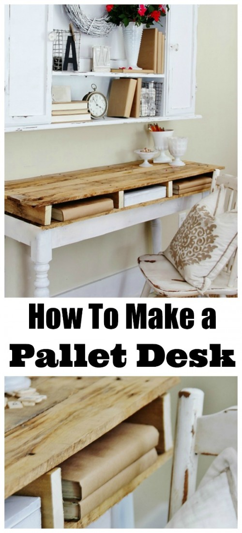 pallet desk (via thistlewoodfarms)