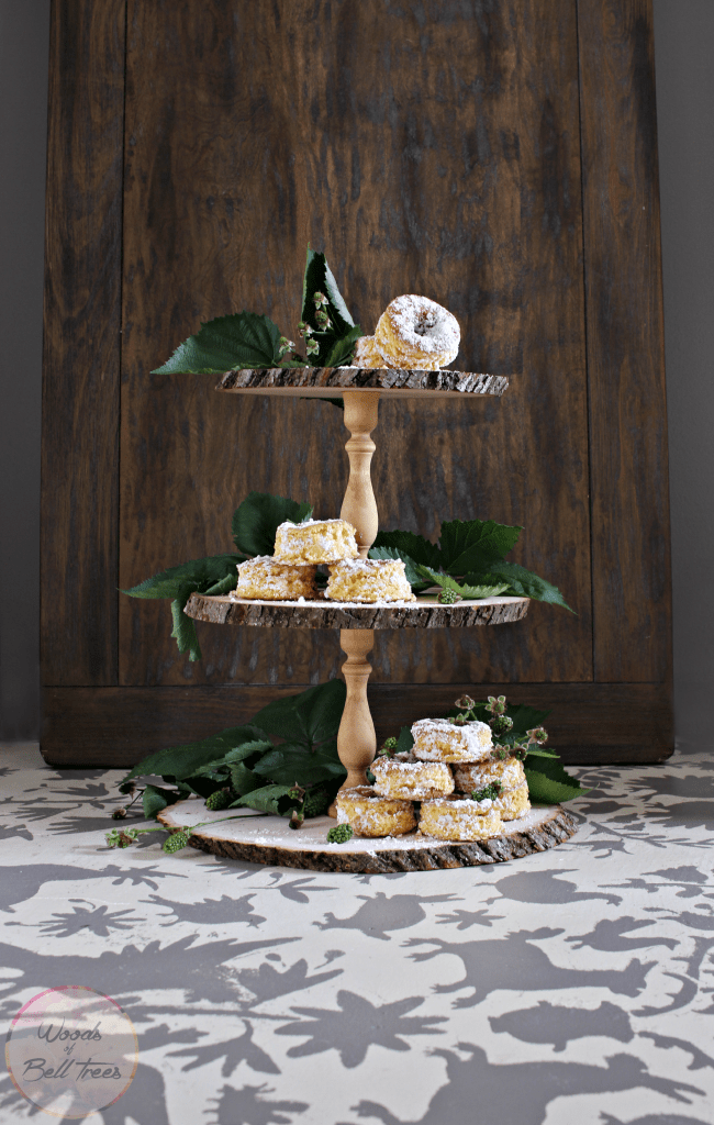 Picture Of rustic diy triple tier cupcake stand  1