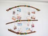 Rustic Diy Yran Wrapped Photo Mobile
