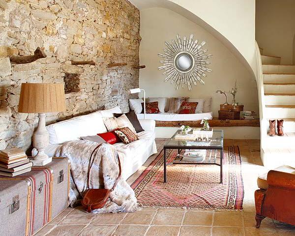 20 Rustic Living Room Design Ideas