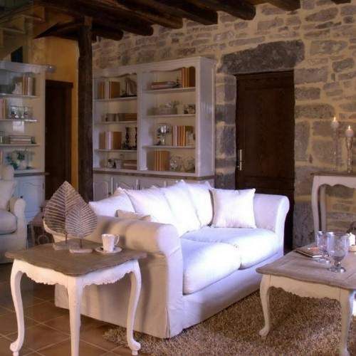 20 Rustic Living Room Design Ideas