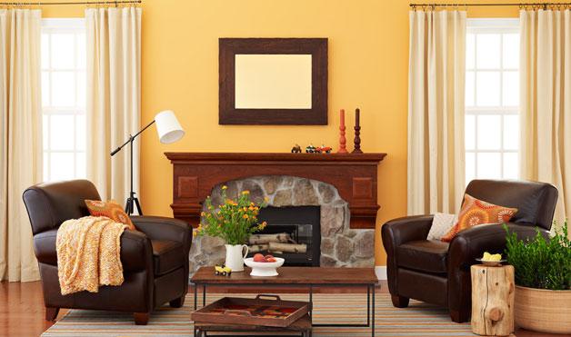 Picture of rustic living room design ideas