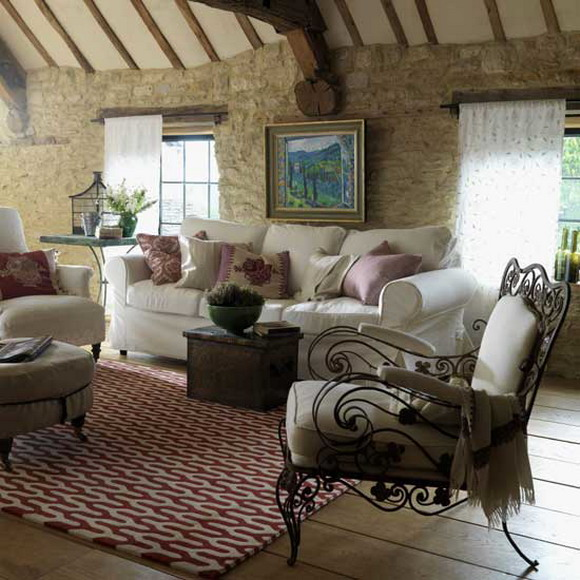 Remarkable Rustic French Country Living Room 580 x 580 · 104 kB · jpeg
