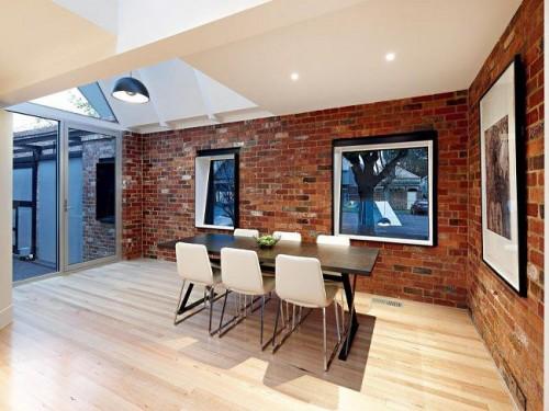 Rustic Outside Modern Inside House