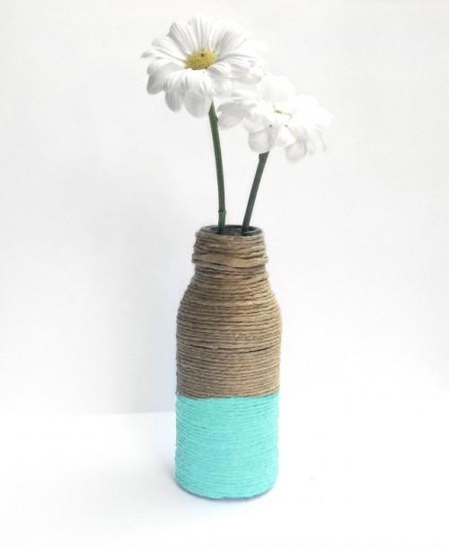 easy twine vases