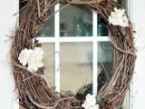rustic vintage grapevine wreath