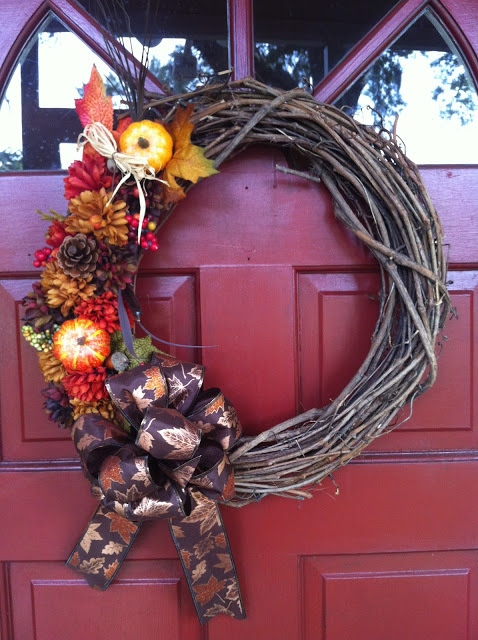 classical twig fall wreath
