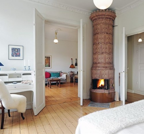 Scandinavian Fireplaces