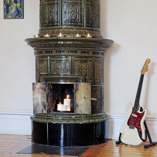 35 Real Life Scandinavian Fireplaces Shelterness