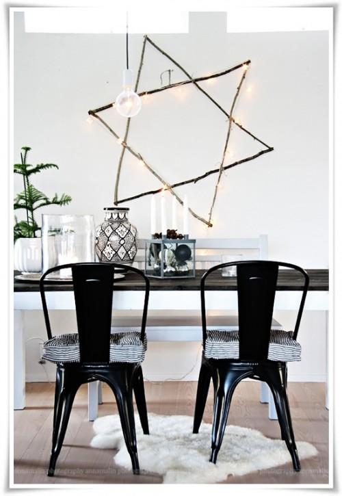 twig star decor