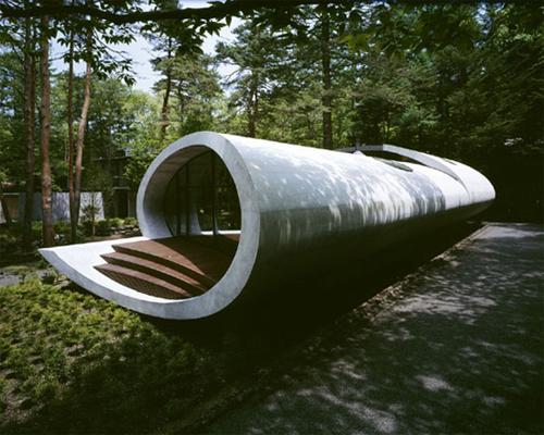 Sculptural Shell Like House