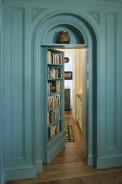 Secret Doors Into Hidden Rooms