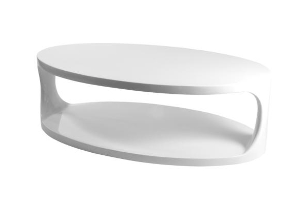 The Most Modern And Stylish Coffee Tables » Serena Oval Coffee Table