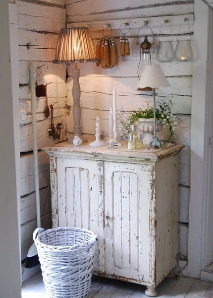85 cool shabby chic decorating ideas shelterness - Meuble style shabby chic ...