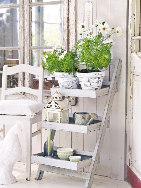 85 cool shabby chic decorating ideas shelterness for Idee deco retro chic