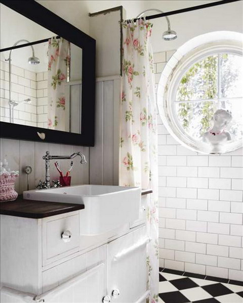 shabby chic decorating ideas - Bathroom Decorating Ideas Shabby Chic
