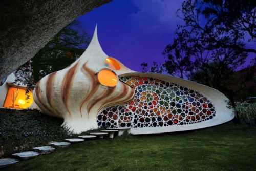 Shell Shaped Nautilus House