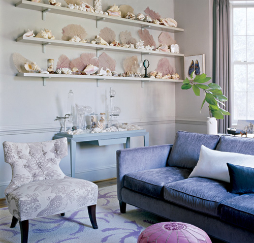 7 Ideas Of Using Shells in Interior Decorating