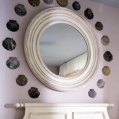 Shells In Interior Decorating