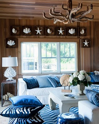Shells In Interior Decorating
