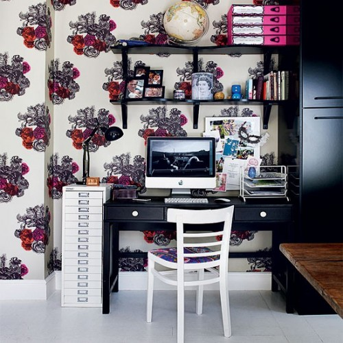home office wall shelves. Perfect Home Even Though Floating Shelves Look Great You Can Use Those With Brackets  Too A On Home Office Wall Shelves E
